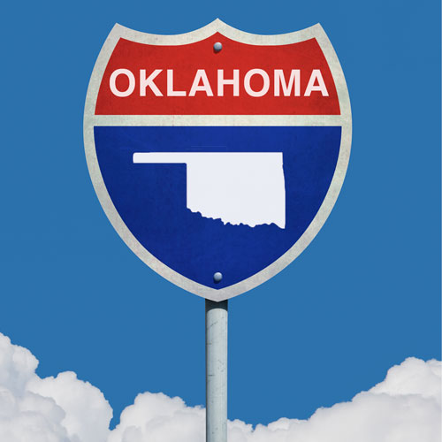 Oklahoma State Sign